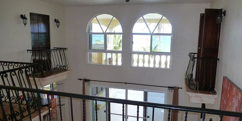 Upper view