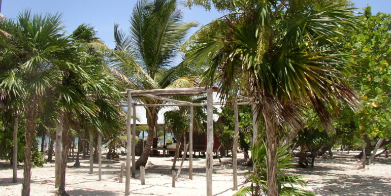 Sun Shelter on Mahahual South in Guadalupe