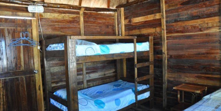 Cabana inside