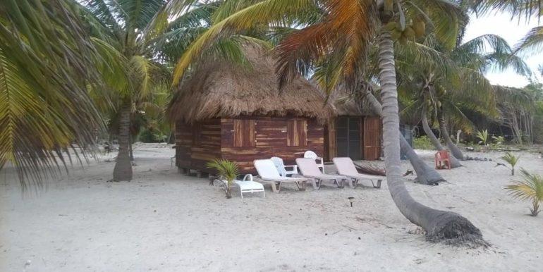 Cabana outside