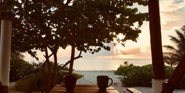 Porch sea view